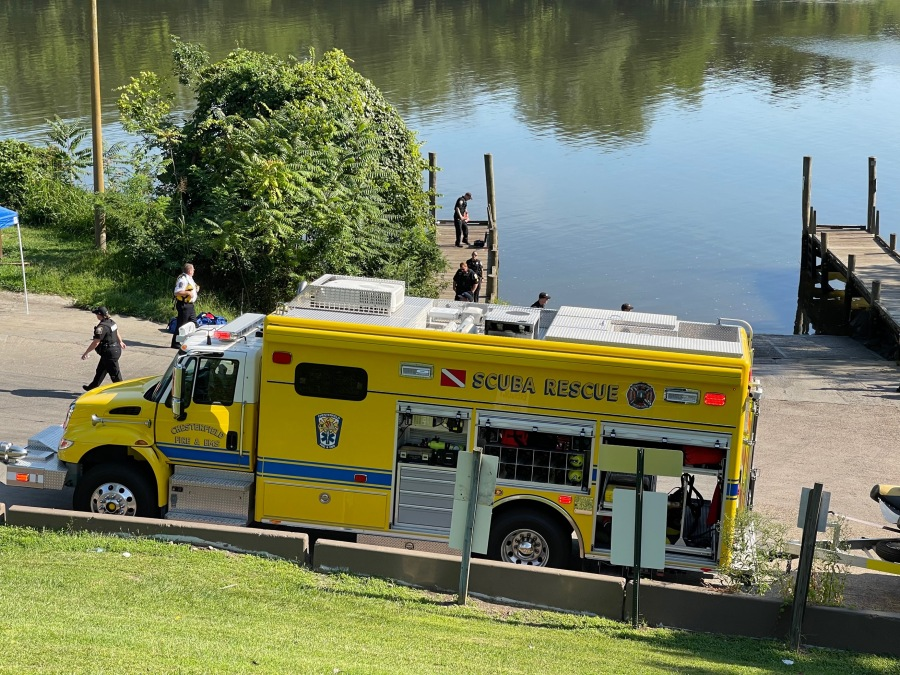 Chester water rescue