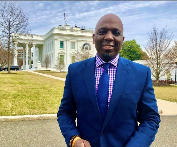 Eric Philips at The White House