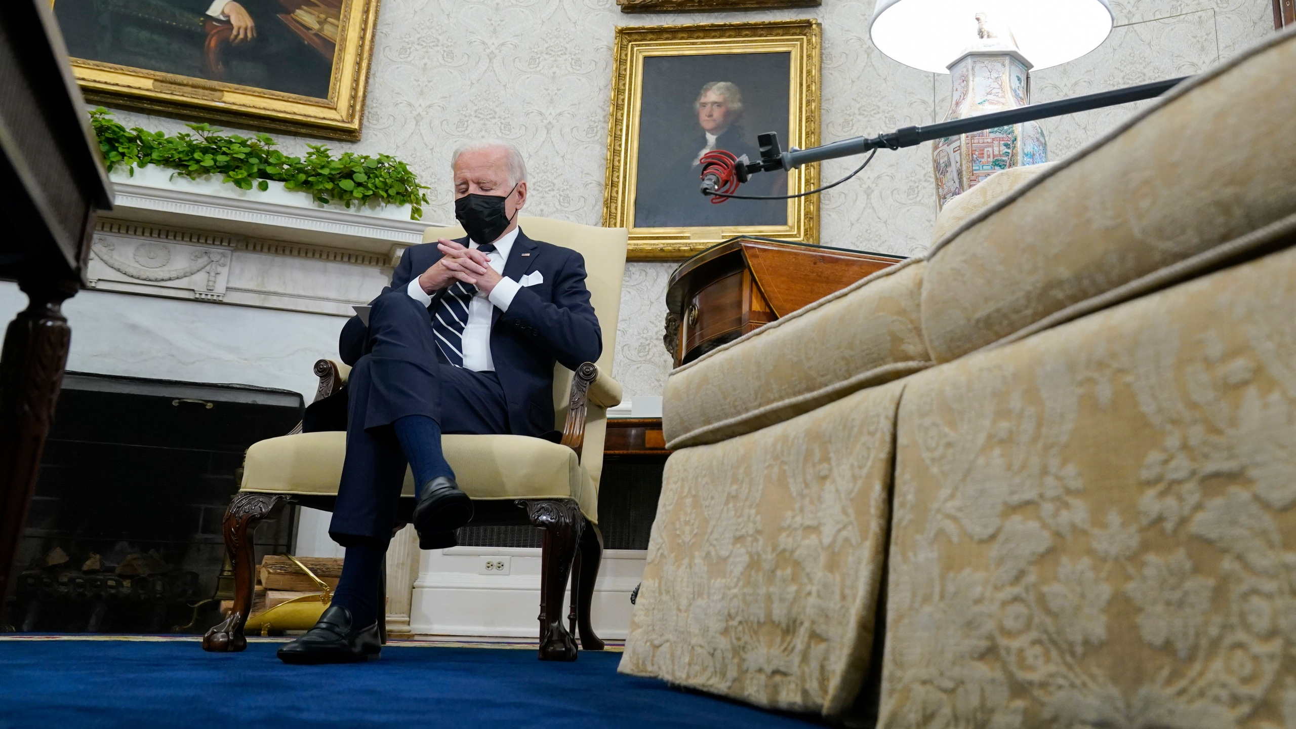 Joe Biden, Naftali Bennett