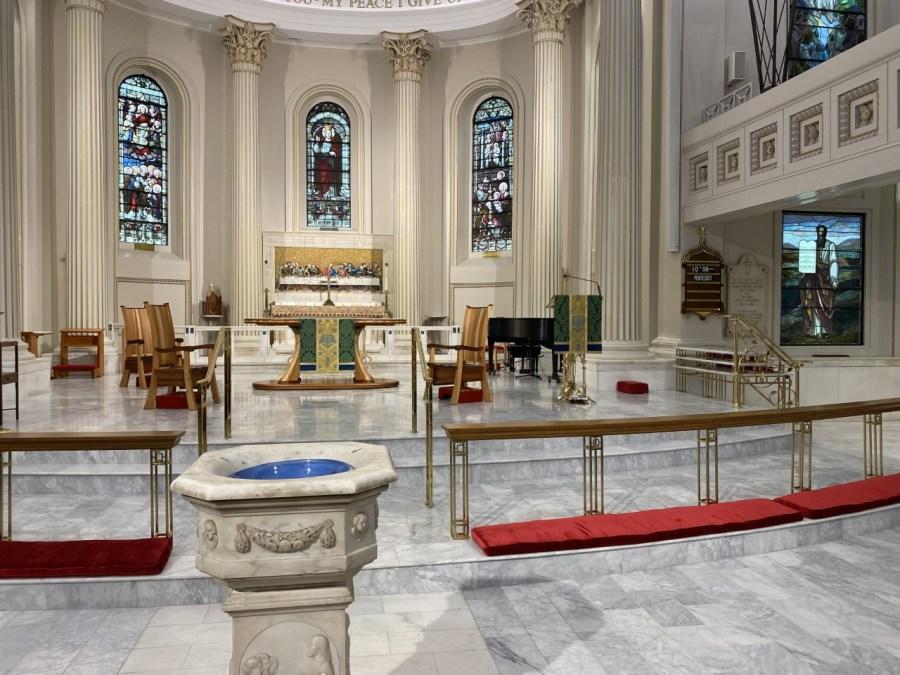 St. Paul's Episcopal Church mask guidance