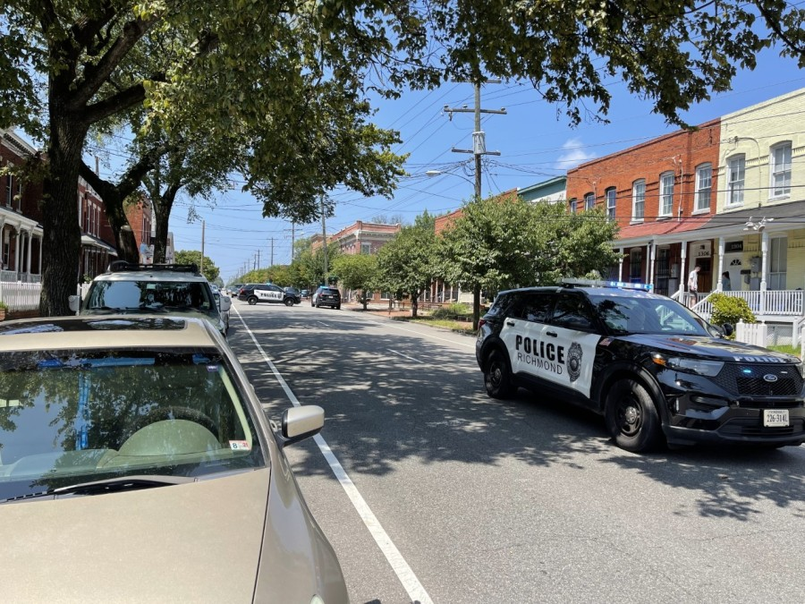 cary street pole accident