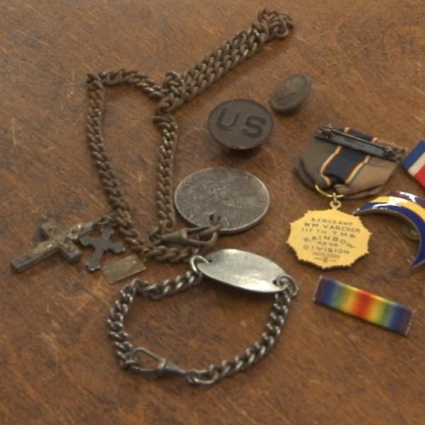 World War I artifacts