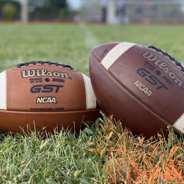 footballs John Marshall vs Armstrong