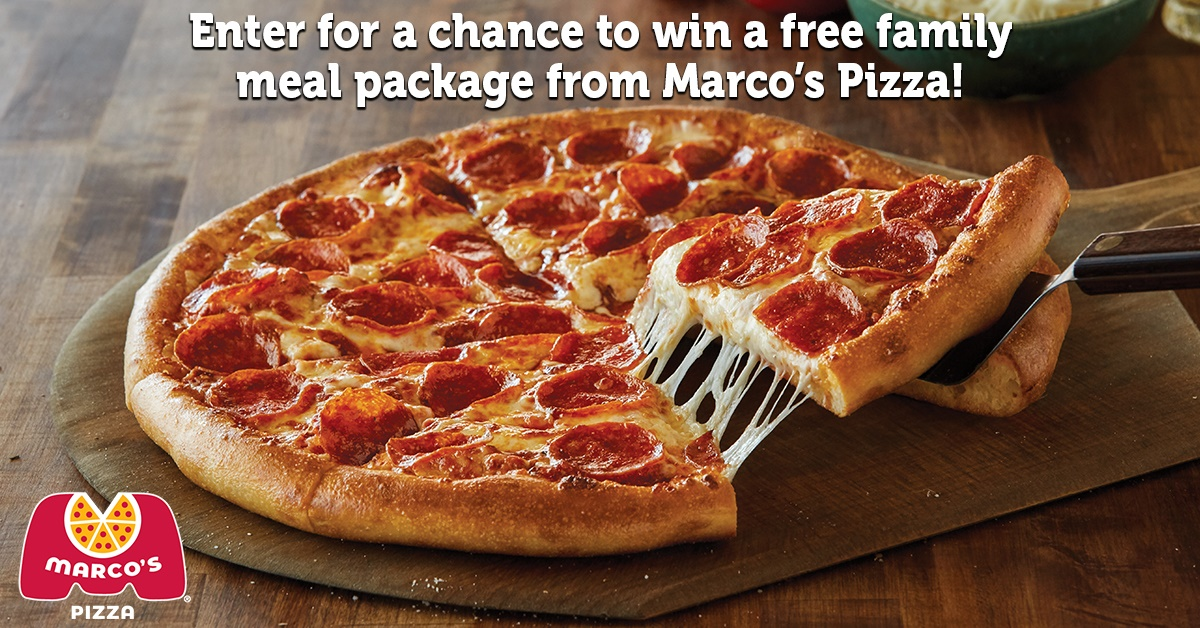 Marcos Pizza Sweepstakes