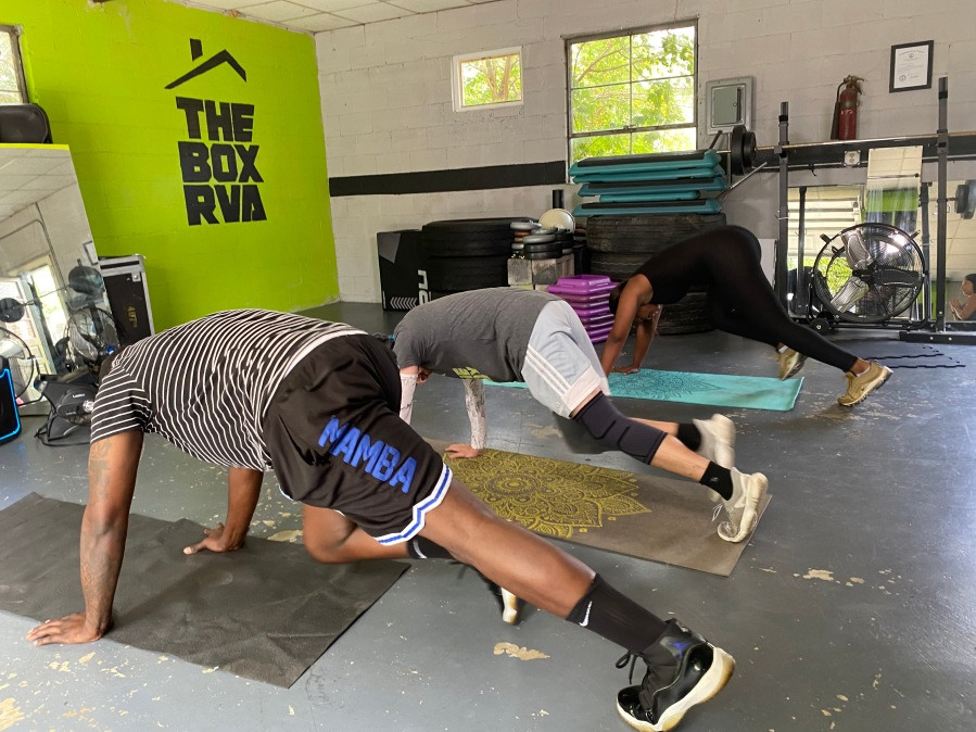 Clients workout at The Box RVA in Richmond, Virginia. (Photo: 8News)