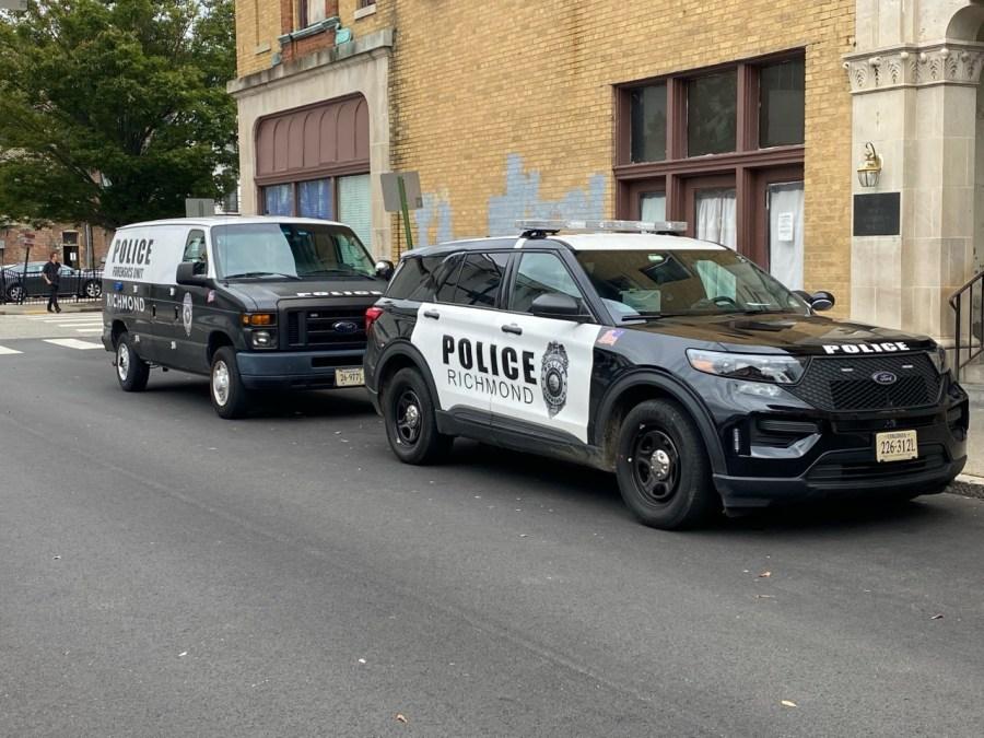 richmond police vehicles on N Jefferson street