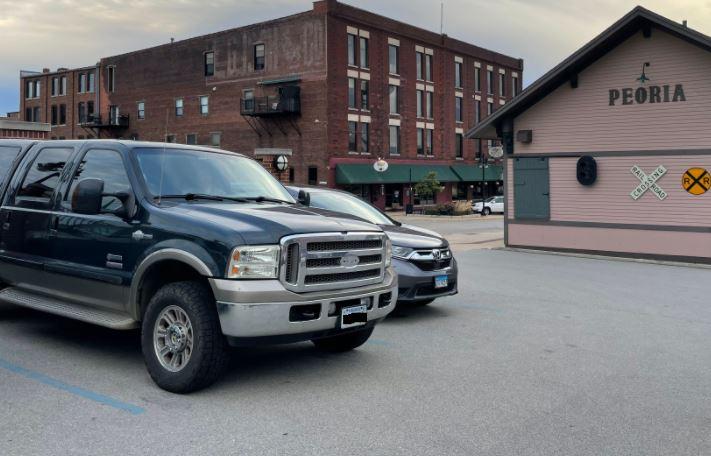 the stolen truck